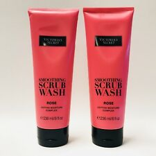 2 Victoria's Secret Love My Corps Rose Lissage Gommage lavage 8 fl.oz 236 ml