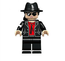 Michael Jackson King of Pop Mini Doll  Building Blocks Toy with red t-shirt