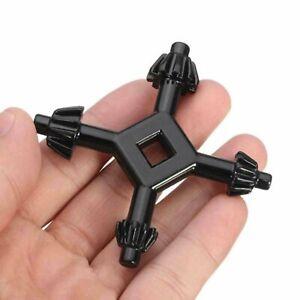 "4 Way Drill Press Chuck Key Size 3/8"" 1/2"" Chucks Universal Combination Hand"