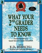 What Your 2nd Grader Needs to Know : HARDCOVER