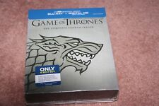 Game of Thrones: The Complete Fourth Season (Blu-ray Disc, 2015, Stark Only  Bes