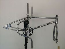 HUTCH PRO RAIDER old school bmx vintage chrome cranks handlebars