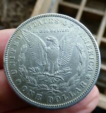 More details for united states silver morgan dollar $ coin 1881