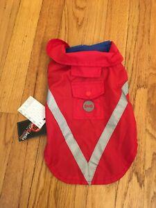 Bailey & Bella Dog Puppy Raincoat Jacket Adjustable Reflectiv XS 100% to Shelter