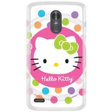 For LG Aristo Skin Case Cover Hello Kitty Lollipop