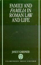 NEW Ancient Roman Families Praetorian Inheritance Augustan Marriage Emancipation