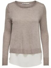 16/11 NEU ONLY Damen Langarm Strick Pullover Shirt onlSUE L/S PULLOVER KNT  Gr.M