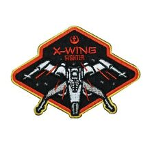"Star Wars ""X-Wing Fighter"" Iron-On Patch Rebel Pilot Apparel Accessory Applique"
