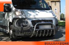 FIAT DUCATO 2006-2014 TUBO PROTEZIONE MEDIUM BULL BAR INOX STAINLESS STEEL