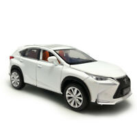 Lexus NX 200T SUV 1/32 Scale Model Car Alloy Diecast Toy Vehicle Kids Gift White