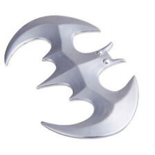 3D personality Batman Auto logo car sticker metal badge emblem tail decal Silver