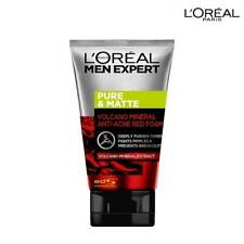 L'OREAL Men Expert Pure  Matte Vocano Red Foam Acne Deep Clear solution 100ml
