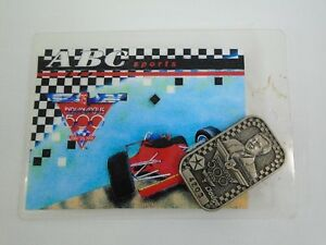 1991 Indianapolis 500 Silver Pit Badge #4203 & ABC Credential Alan Searle 401