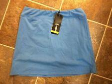 NWT Adidas ClimaLite Skort Womens Size 10 ~ Tennis ~ Golf ~ Oasis Blue ~ $60
