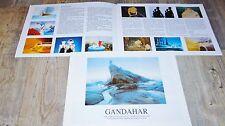 GANDAHAR ! rene laloux dossier presse scenario cinema bd animation