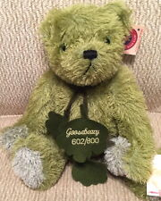 "Hermann Teddy Original ""Goosebeary"" Mohair Bear #602/800 Made in Germany #14831"