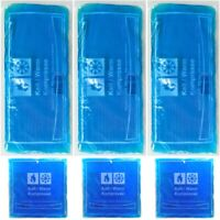 Kälte Wärme Gel Kompressen Pad Kühlpad Kühlkissen Kühlkompresse 3x groß 3x klein