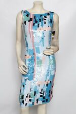 OSCAR DE LA RENTA Pastel Sequin Ikat Resort 2012 Dress Sz 2 / 4 * sample $4,350