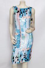 OSCAR DE LA RENTA Pastel Sequin Ikat Resort 2012 Dress Sz 2 / 4 * sample $4,350