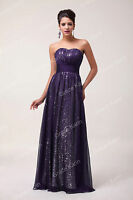 Masquerade Strapless Long Wedding Prom Party Evening Ball Gown Cocktail Dress 1