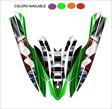 KAWASAKI 800 SXR jet ski STAND UP wrap graphics pwc up jetski decal kit a4