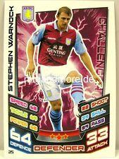 Match coronó 2012/13 Premier League - #025 stephen warnock-aston villa