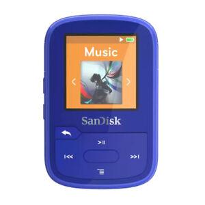 SanDisk 16GB Clip Sport Plus MP3 Player Blue