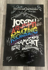 Joseph and the Amazing Technicolor Dreamcoat Poster Signed Autographed