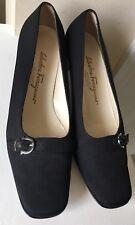 Salvatore Ferragamo Leather Pumps Classics Women Shoes Size 6.5