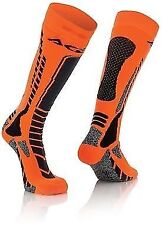 New Acerbis 8-10 UK Adult Knee Length Thick Socks Motocross Enduro Trials KTM XC
