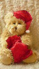 MARKS & SPENCER PLUSH CHRISTMAS TEDDY BEAR TATTY TEDDY SCRUFFY TEDDY BEAR