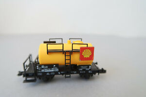 """Fleischmann N 8400 Kesselwagen 000 2 797-7  DB """" SHELL """" (AK18-5S4/34)"""