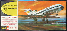 REVELL H-240 - Europa Jet BOEING 727 - Lufthansa - 1:144 - Flugzeug Bausatz -KIT