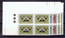 Portugal **  MiNr 917 - 922 Viererblocks Eckrand Pfadfinder