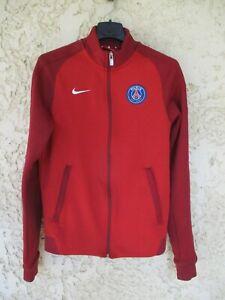 Veste PSG PARIS SAINT-GERMAIN NIKE rouge football training jacket giacca S