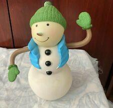 hallmark fun in the fridge talking singing snowman motion activated