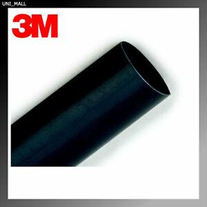 3M FP-301 BLACK HEAT SHRINK TUBING (1/2 inch x 4 feet) , Made in USA