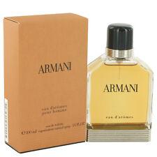 Armani Eau D'aromes by Giorgio Armani 3.3/3.4oz. Edt Spray For Men New In Box