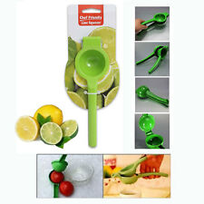 Chef Friendly Aluminum Lemon Lime Squeezer Hand Juicer with Enamel Color Coating