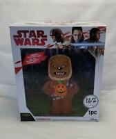 Star Wars CHEWBACCA 3.5 Ft. Light Up Air Blown Halloween Decor Inflatable NEW