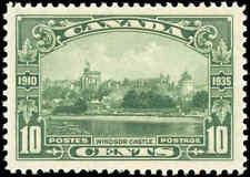 1935 Mint NH VF Canada Scott #215 10c King George V Issue Stamp