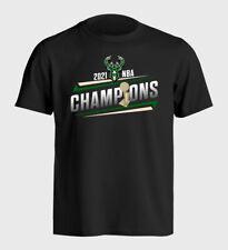 Milwaukee Bucks 2021 Nba Champions - Graphic T- Shirt - S-5Xl
