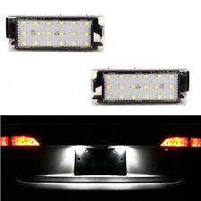 ECLAIRAGE PLAQUE LED RENAULT CLIO 3 ACCESS TOMTOM GT XV FEUX BLANC XENON