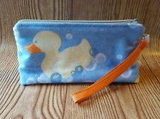 Bubble Rubber Duckies Wristlet Back to School Pencil Pouch Purse Bag