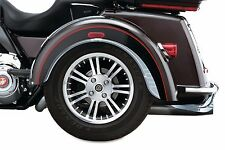 Kuryakyn Rear Chrome Fender Flares Skirts Trim Accents Harley Trike Tri-Glide