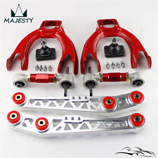 Lower Control Arm Front Upper Rear Steel Camber For 92-95 Civic CRX Integra SL