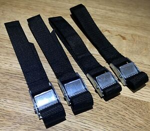 Replacement straps for Thule RideOn 9402/9502 Pop Top Bike 973 Rack Straps X 4