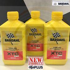 3 litri BARDAHL XTC C60 10w40 mPlus Olio Motore Moto 4T Sintetico