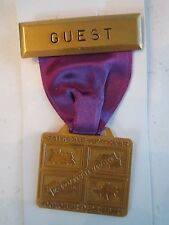 1971 STATE FAIR OF TEXAS - EXPO TRANS/PORT - GUEST MEDAL - MINT - TUB BN-6