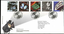 GB FDC 1996 100 Years Of Going To The Pictures, Bureau H/S #C22944